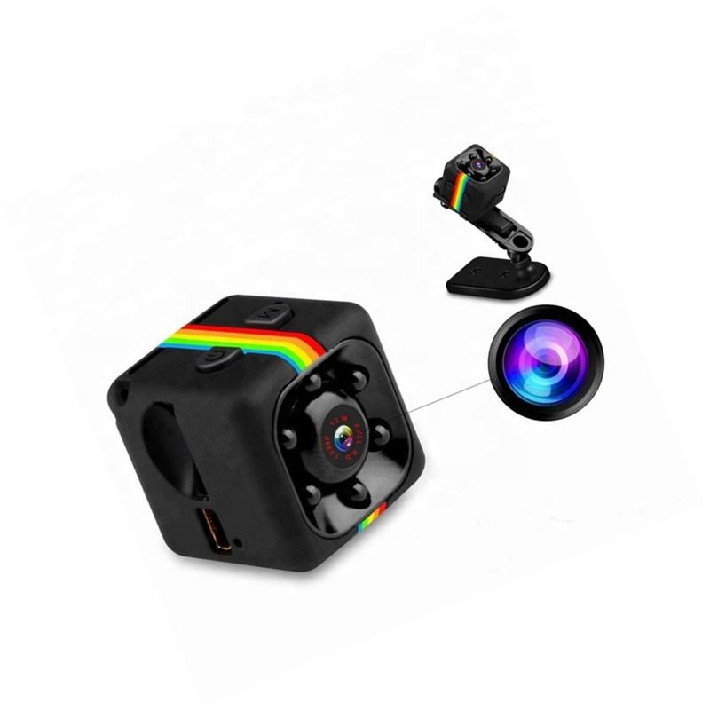 Factory Cheap Price SQ11 Mini Sport Camera HD 1080P for TF Cards Security Night Vision Camcorder Motion DVR Mini Camera