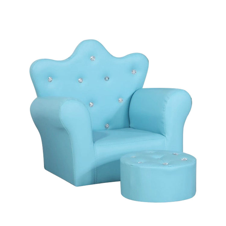 AliGan Wholesale Colorful Elegant Home Living Room Furniture Soft Mini Single Children Sofa