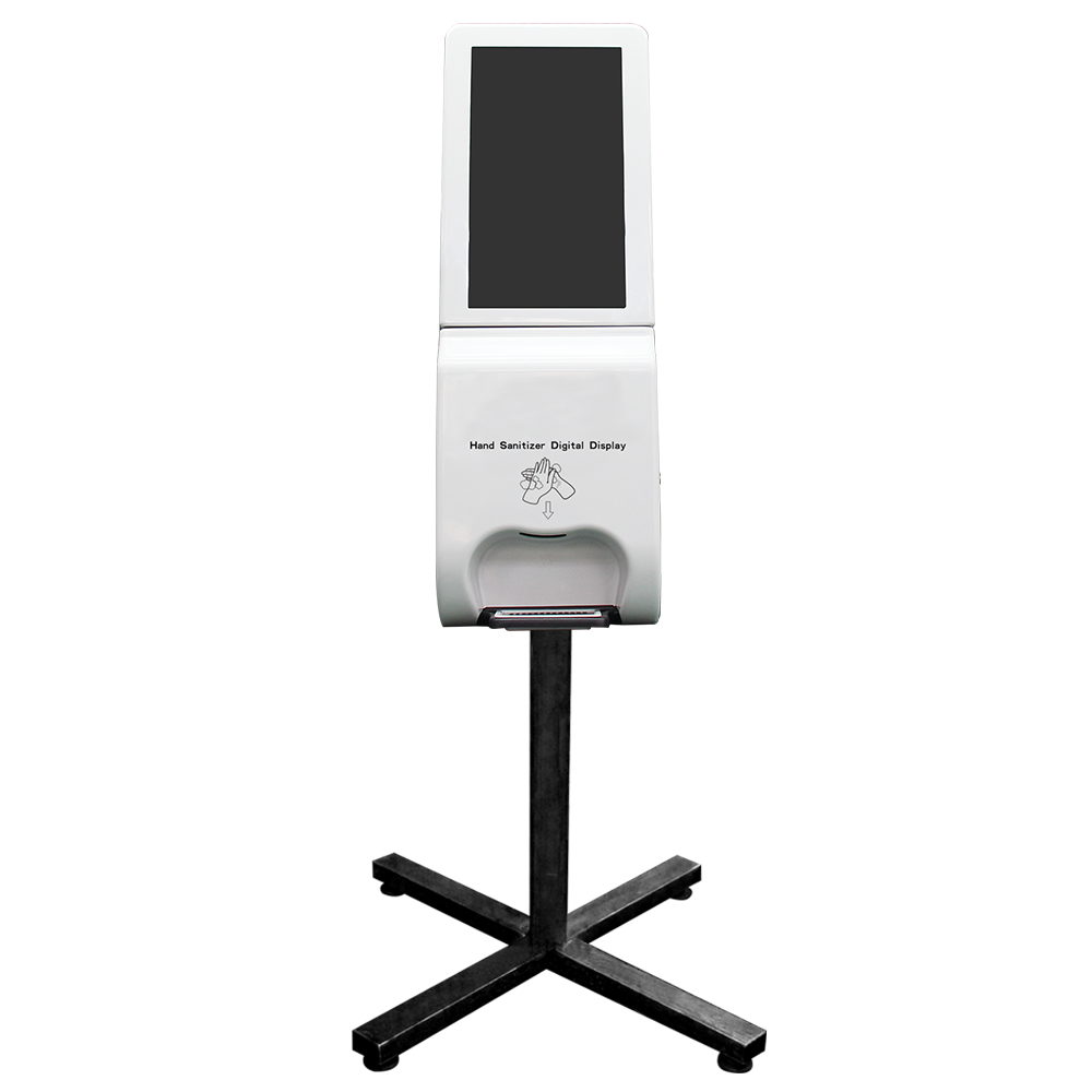 New Design on the Hand Sanitizer Dispenser Digital Display Kiosk 3000ml Tank with Email Water Alarm