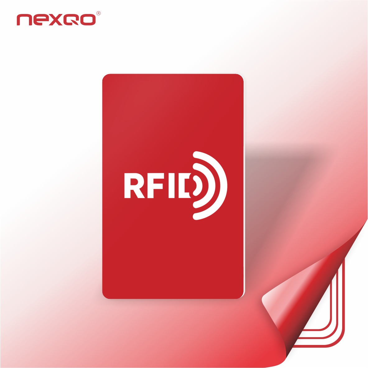 High Quality Debit Card Size Contactless Access RFID NFC Smart Chip Cards