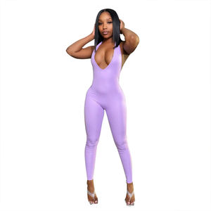 Wholesale New Arrivals Girls Fashion Clothes Styles Jumpsuits Women European Sports Fitness Clothing