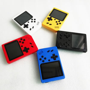 Dropshipping christmas promotional console Retro 64bit wireless 400 in 1 games handheld retro mini game player