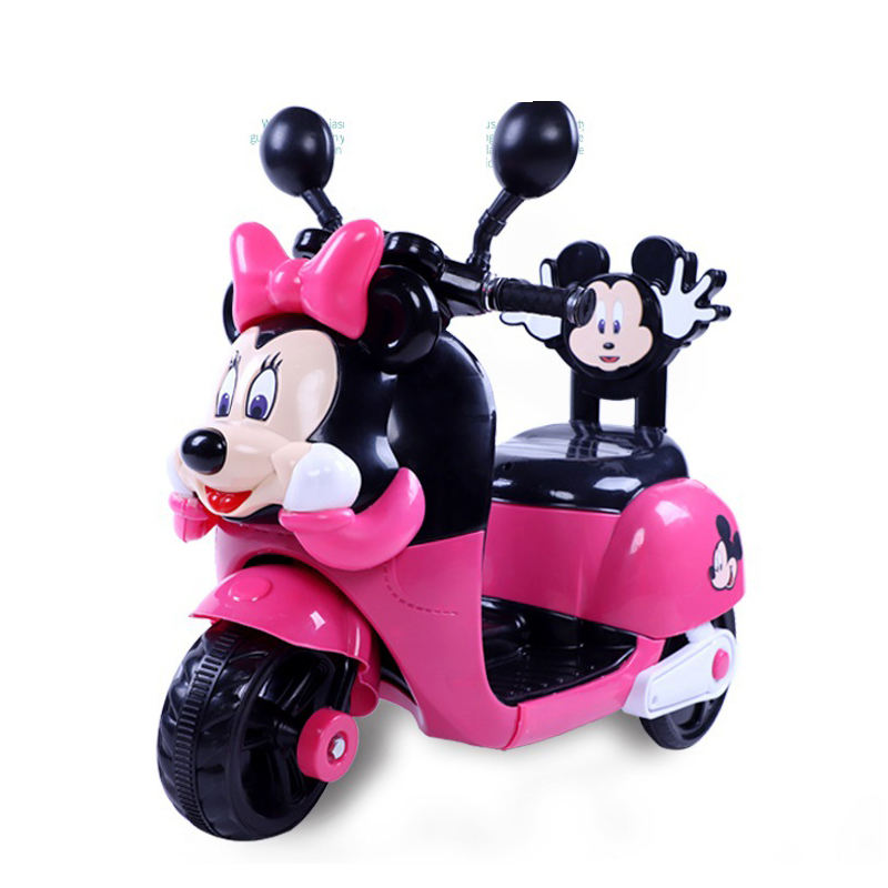 3 wheels riding toy motorized tricycle electric battery powered toddler motorcycle for girls