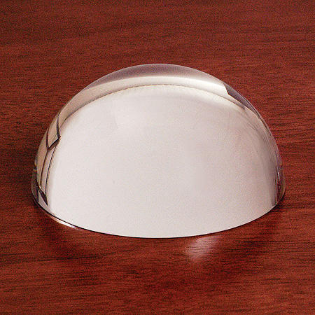 Crystal Magnifying Glass Dome Paperweight MH-F0467