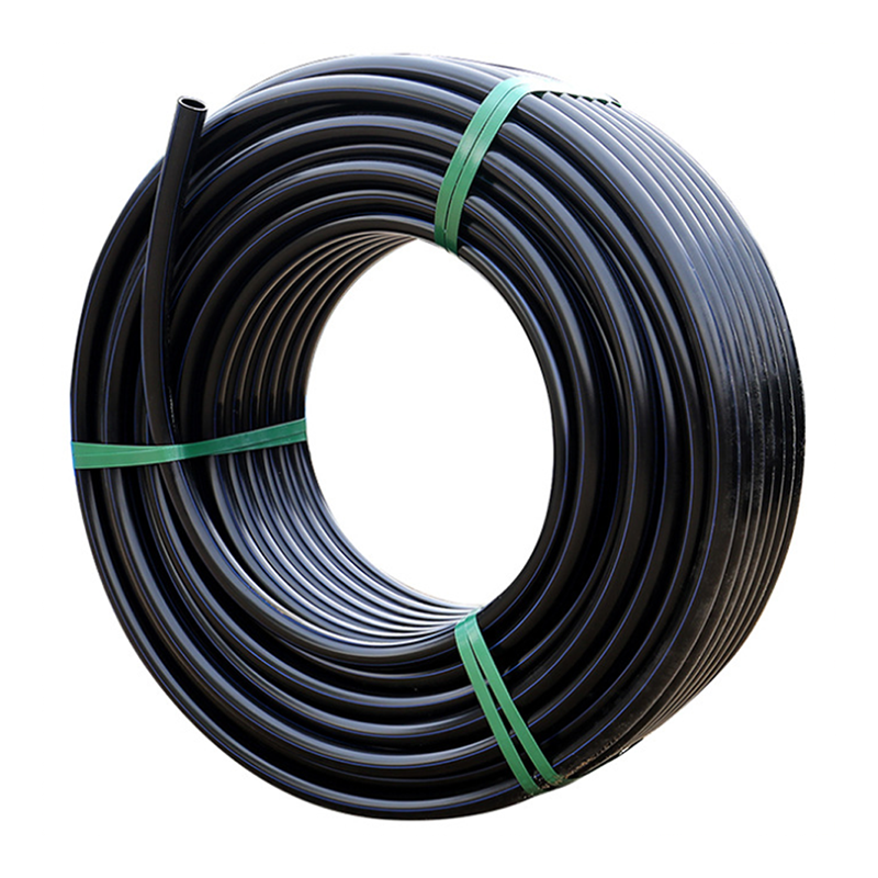 Pe Pipe Pe Pipe Manufacture Drain 12 Meters Long Polyethylene Tube 4 Inch Pip4 Pe Material Perforated Black Plastic Drip Irrigation Pipe Price