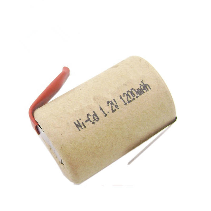 Hot sale nicd sc 1200mah 1.2v rechargeable battery