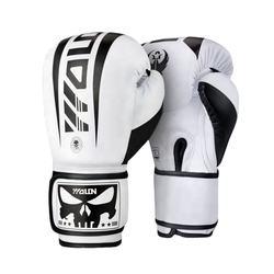 WOLON Wholesale Supplie Design your own 8oz/10oz/12oz/14oz/16oz Professional Boxing Gloves Oem Pu Leather Training Boxing Gloves