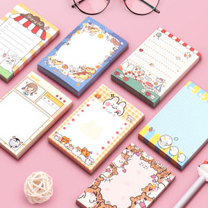 Supplier Cute Hand Account Cartoon Tear-able Diary Notebook Girlfriend Gift for Girl Students Mini Hand-book Schedule Book