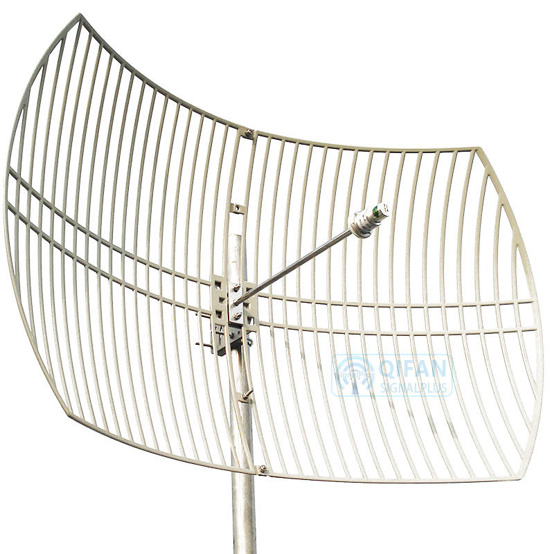 5.8G Outdoor Directional Grid Parabolic Antenna high gain 30dBi for Long distance wifi 5ghz