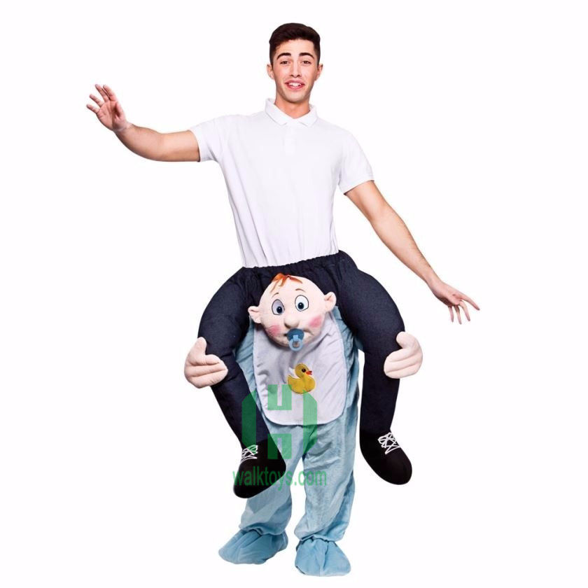 Carry Ride On Me Xmas Costume Shoulder Piggy Back Fancy Adult Dress Party Outfit