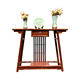 Modern Chinese Furniture case wood porch hall corridor new Chinese porch table Neoclassical living room cabinet