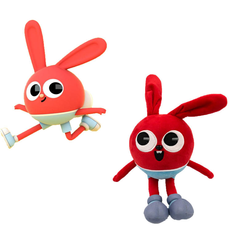 China factory custom plush mascot toy with custom logo for promotion