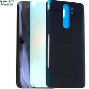 high quality black white color back cover battery housing for xiaomi Redmi note 8 Pro note8 note8t
