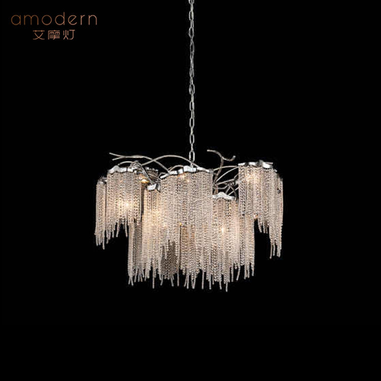 HBMD1-110 Amodern moderne luxe gland cristal lustre éclairage