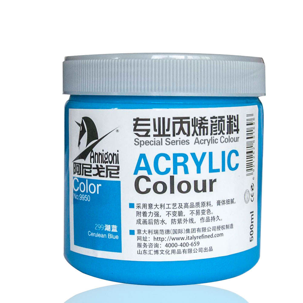 European standard Non-toxic 500ml Acrylic Paint for artist