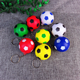 Christmas gift decoration pendant moody pressure ball small football blue ball keychain