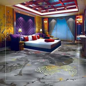 Innovflooring 100% polypropylene casino carpet golden carpet for hotel