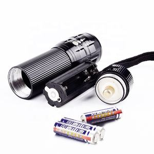 High Power Mini 3 Modi Zoomable-led Gun Taktische Taschenlampe Polizei Hand Licht
