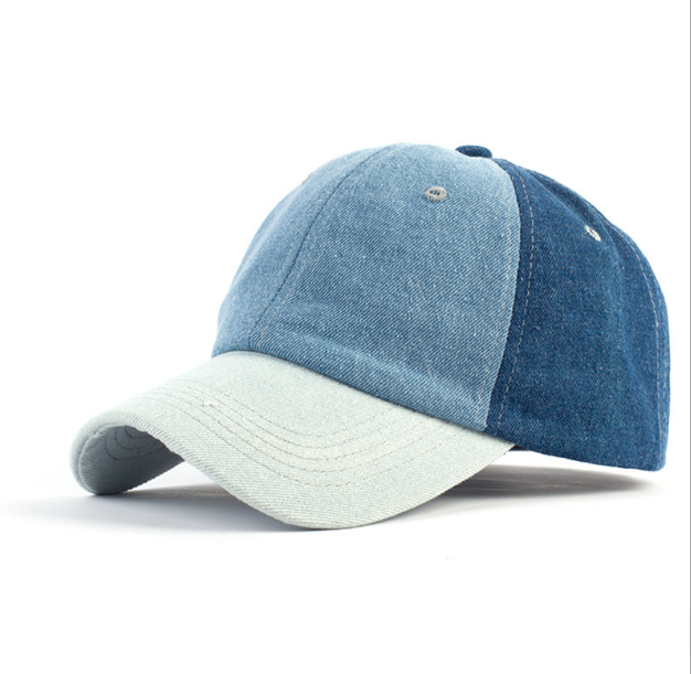wholesale high quality golf hat blank cotton color matching baseball cap