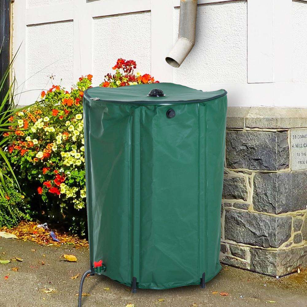 Foldable Pvc Tarpaulin Soft Rain Water Storage Barrel