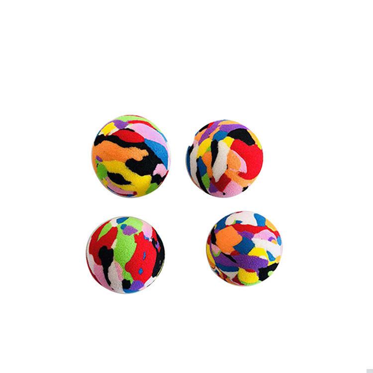Pas cher prix coloré taille personnalisée pour animaux de compagnie interactif jouet balle En Mousse EVA