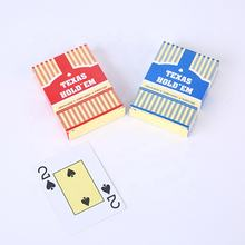 Hot Printing Professional design TEXAS  Poker Playing plastic Cards holder