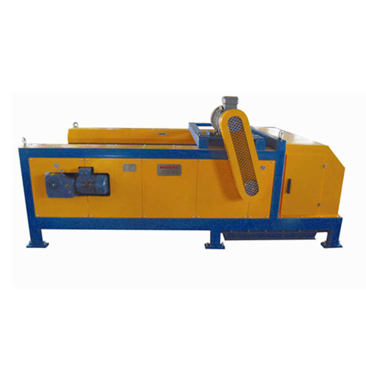 Eddy current separator machinery to sort aluminium rings from shredded scrap glasses cullet