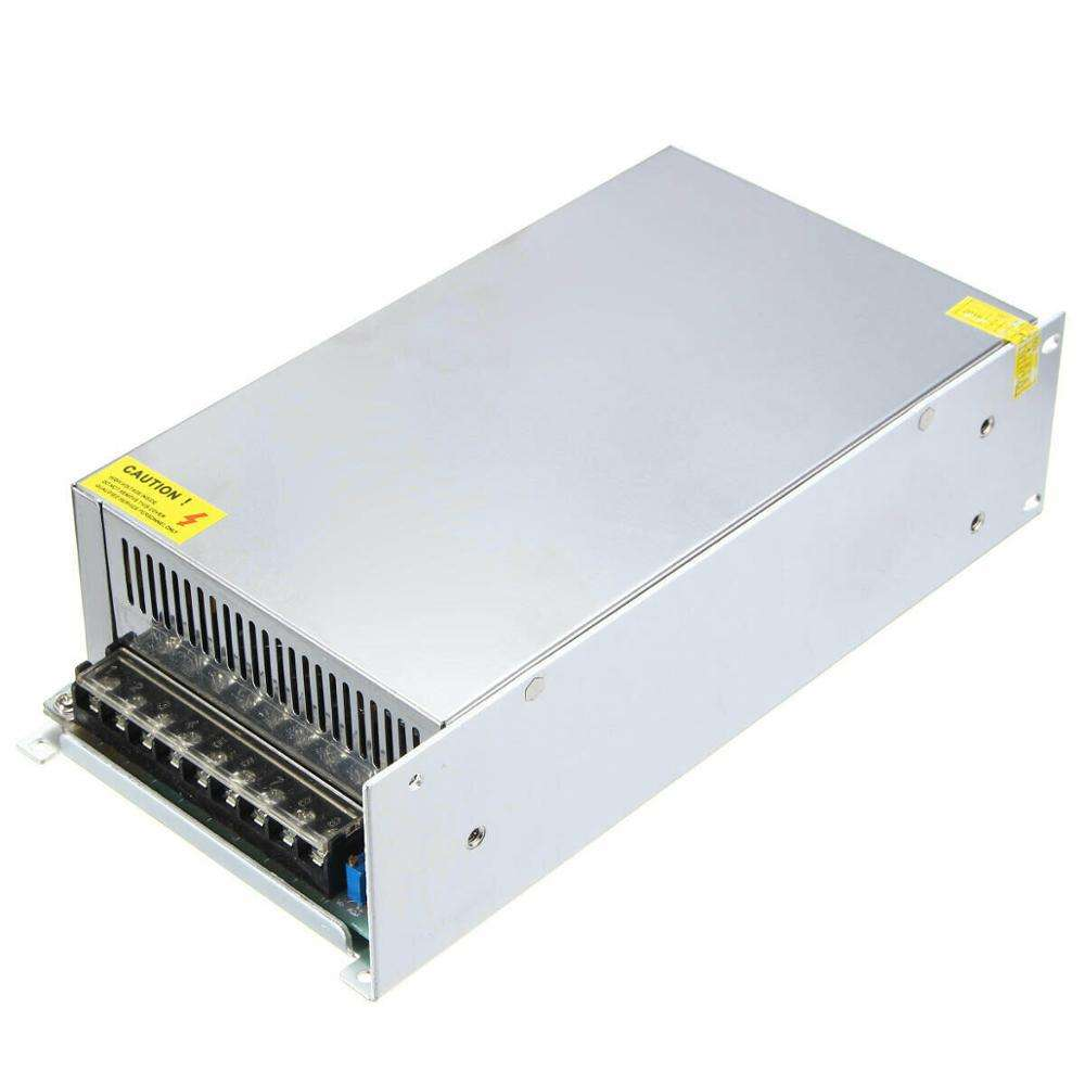 AC to DC 24V 25A 600W LED Driver 24 Volt 25 Amp Transformer 24Vdc 600 Watt Power Supply
