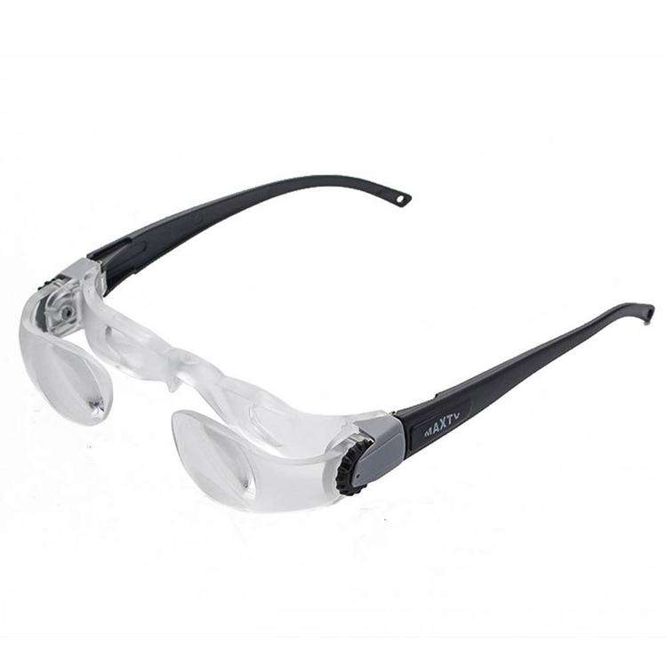 Loupe Glasses Headwear Comfortable Video Magnifying Glass 3D cinema old people reading watching movie magnifying glass