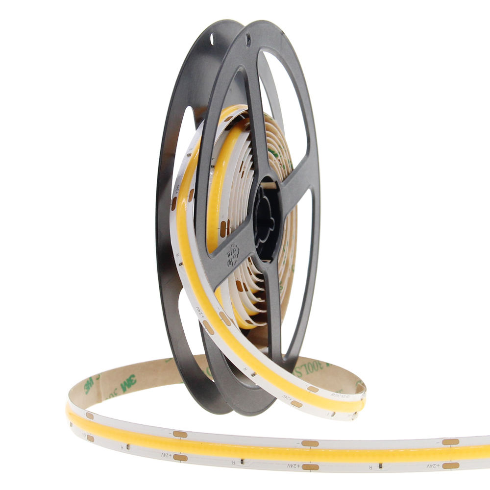 Tira de luces Led Cob, Flexible, Chip Epistar, 12V
