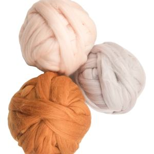 Yarn craftsman retail 66s 21 micron 100% australia super roving chunky merino wool yarn