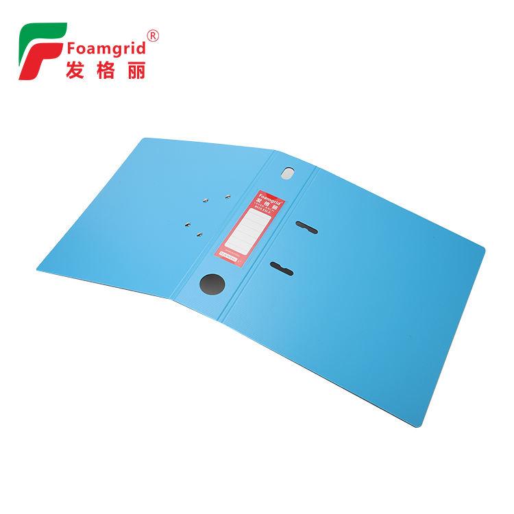 ホット販売高品質 A4/FC オフィスファイル紙ファイルフォルダ 3 インチレバーアーチファイルホルダー段ボール PP カバー