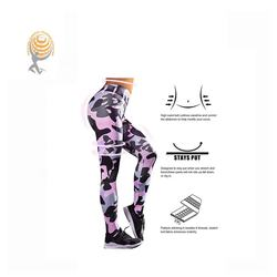 Patterns Women Pants Sublimation Fitness Yoga Leggings