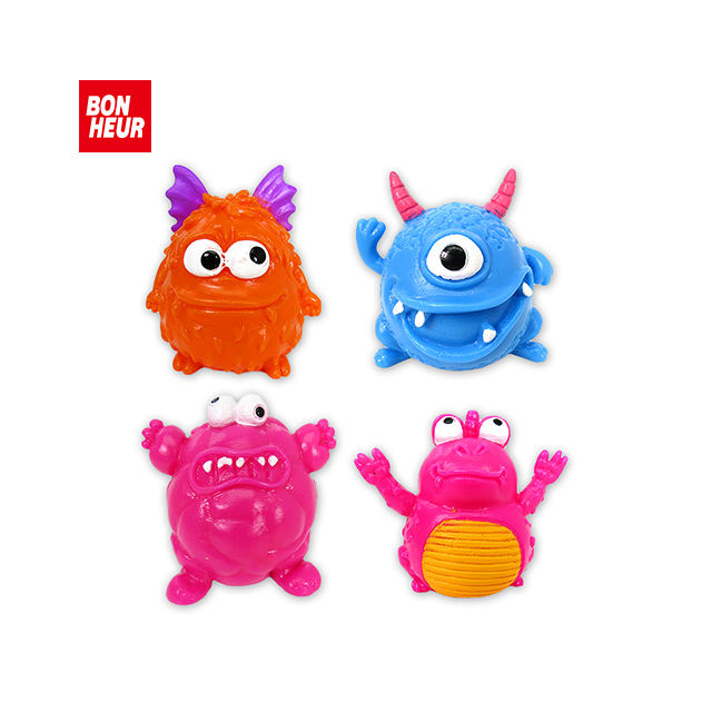 Mainan Anak Monster Anti Stres, Anti Stres, Remot Kontrol, Mainan Monster Splay Squish Lembut Kawaii
