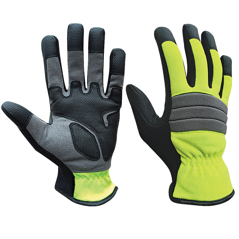 Hand gloves mechanic safety tools gloves mechanical work anti vibration gloves