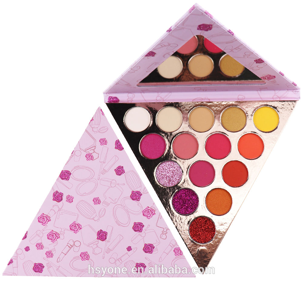Makeup pallet creative fashion eyeshadow palette private label 9 color welcome OEM