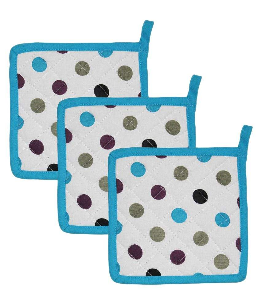 100% cotton pot holder with pocket cheap price
