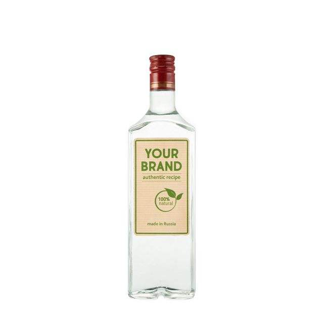 Your brand of JUNIPER BERRY flavoured vodka 0.5 L