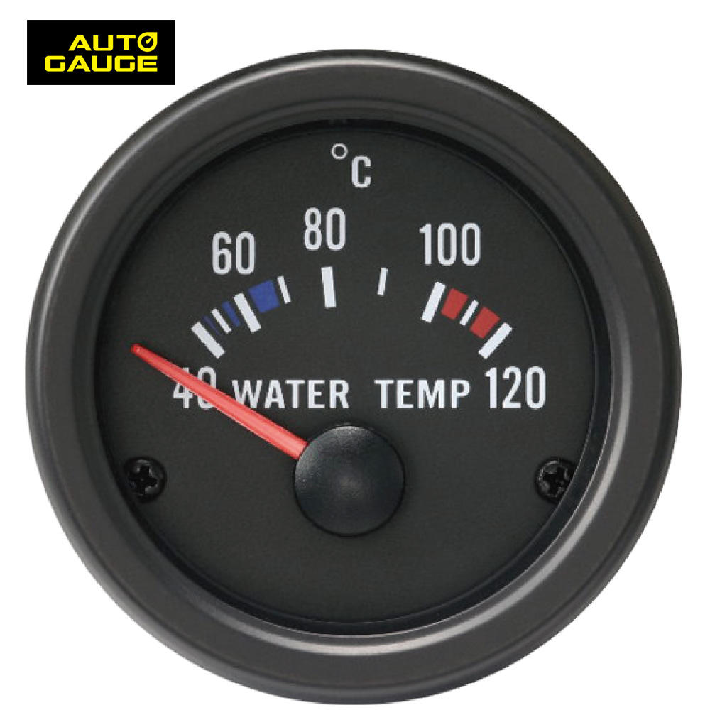 52mm Easy Installation And Set Up for Automobile and truck Water Temp Gauge