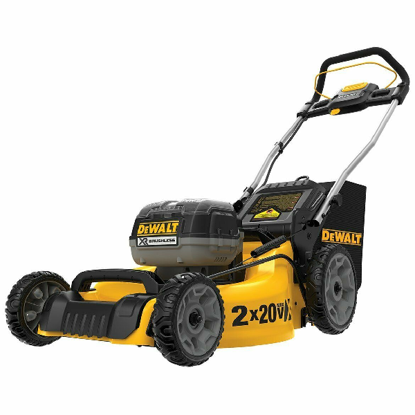 Sales Discount On DCMW220P2 20-Volt 20-Inch 5.0Ah 3-in-1 Cordless Metal Deck Lawn Mower Brand New And Original