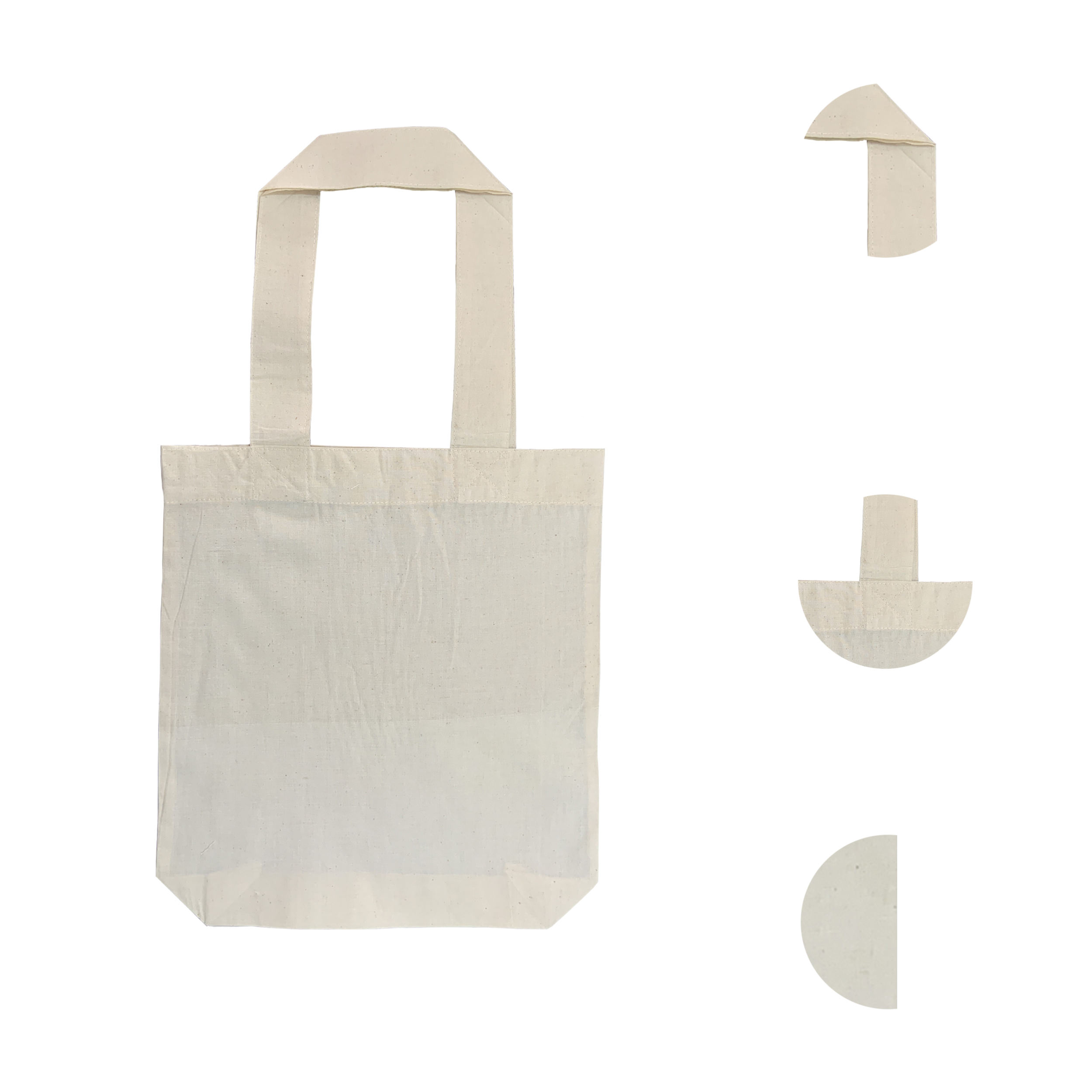 160gsm primitive calico cotton tote shopper bag very suitable for promotional and printing, supermarket shopper, conference bag