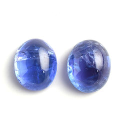 LD & Company  Natural Tanzanite Oval Shape  Loose Gemstone Cabochon 12.70 ct for Jewellery Making