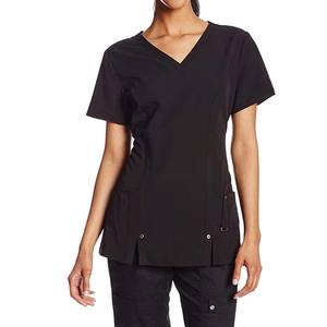 High Quality OEM Infinity Men's V-Neck Scrub Top