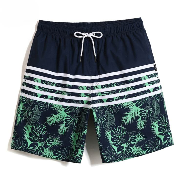 Men der Printed Short Swim Trunks Swimwear Bathing Suit