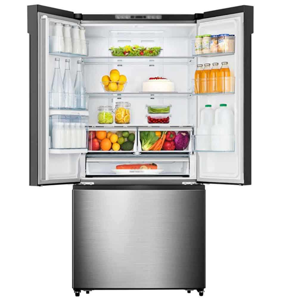 20.7 cu ft Counter-Depth French Door Refrigerator with water dispenser