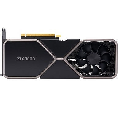NVIDIA GeForce RTX 3080 10 GB Founders Edition Video Card