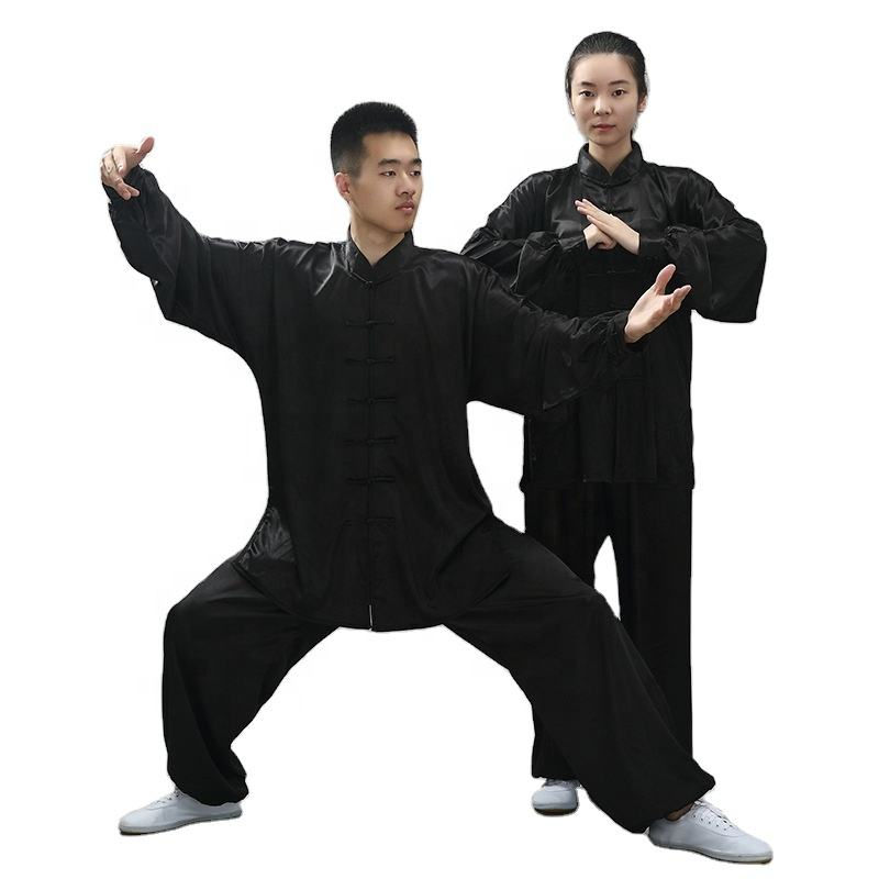 Top Quality Kung Fu Marital Arts Uniforms Taichi Clothes Tai Chi Clothing Sets Wholesale New Design Unisex Suits