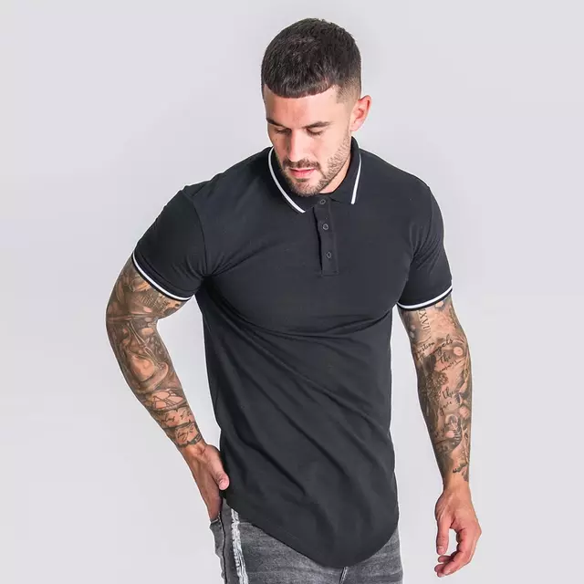 Fashion Men Clothes High Quality Polo T shirt Top Quality Design