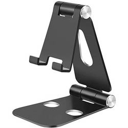 Black And Silver Portable Foldable Universal Smart Mobile Holder With Good Quality From China