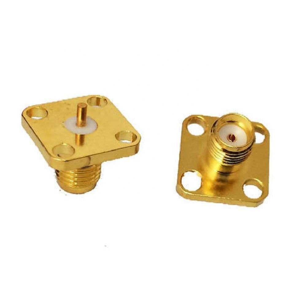 SMA Female 4 Hole Connector
